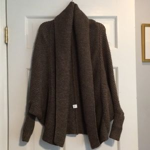 Brown Express sweater